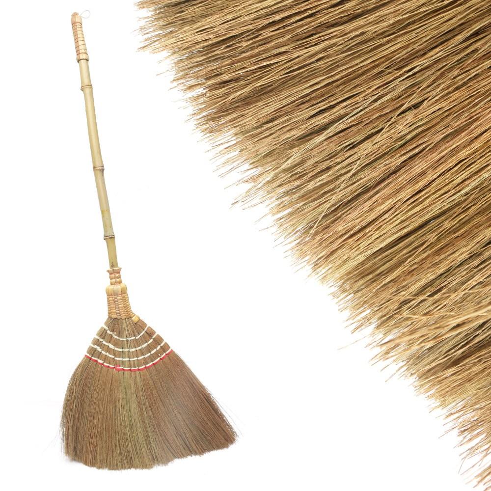 갈대 빗자루 서서방비 (대나무 수수비 마당비 미용실 교실 사무실 학교 체육관 청소), 단일상품