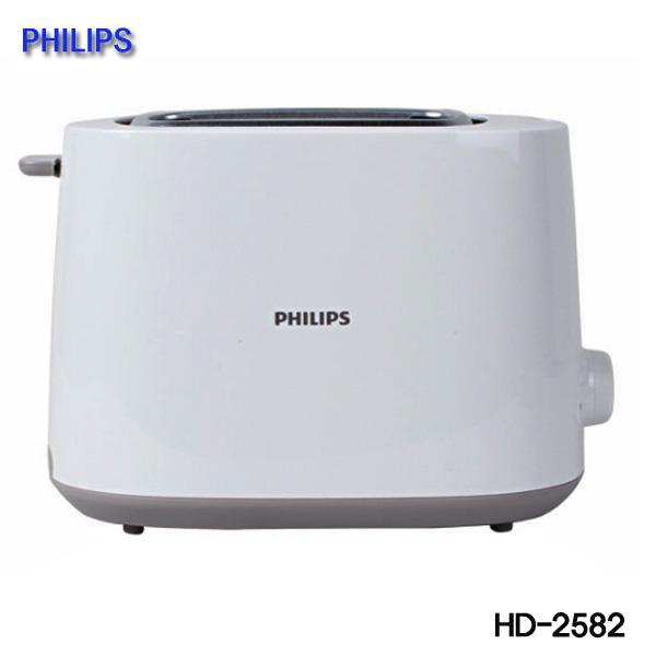 필립스 토스터 HD-2582 760W 자동전원차단 8단계 굽기조절, HD-2582(플라스틱)