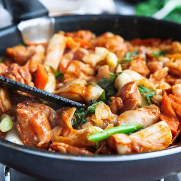 간편한집들이음식 춘천닭갈비 모듬세트 항아리닭갈비, 항아리닭갈비(800g)