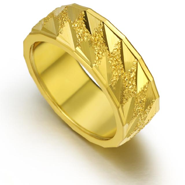 [커플레인] 금 24K 순금 반지 한돈 두돈 세돈 네돈 다섯돈 가능