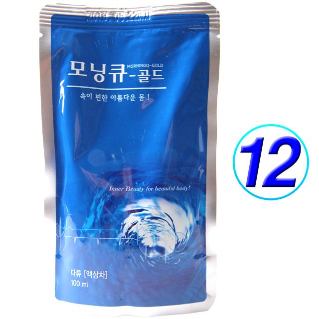 모닝큐 골드100ml(포) 기타건강음료, 100ml, 12개