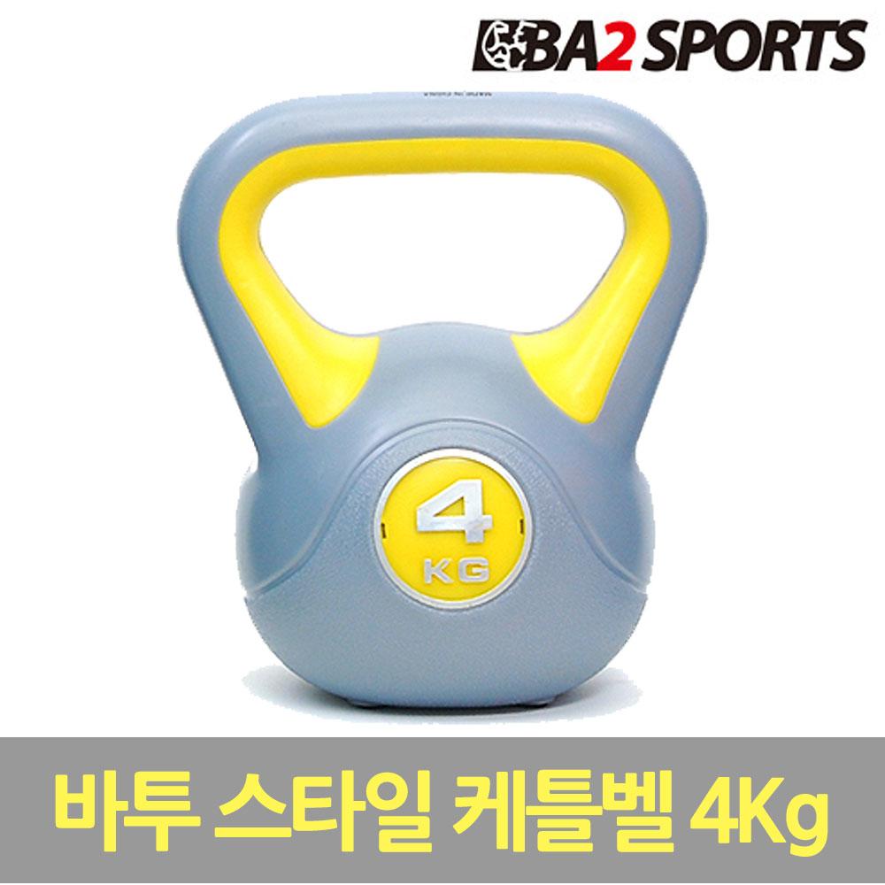 바투 ViVid 2kg~16kg 컬러스타일 스윙 케틀벨, 스타일, 4kg