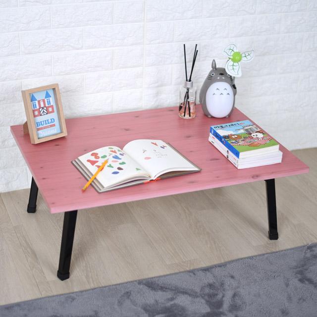 바니가구 파스텔 좌식책상 테이블, 핑크B