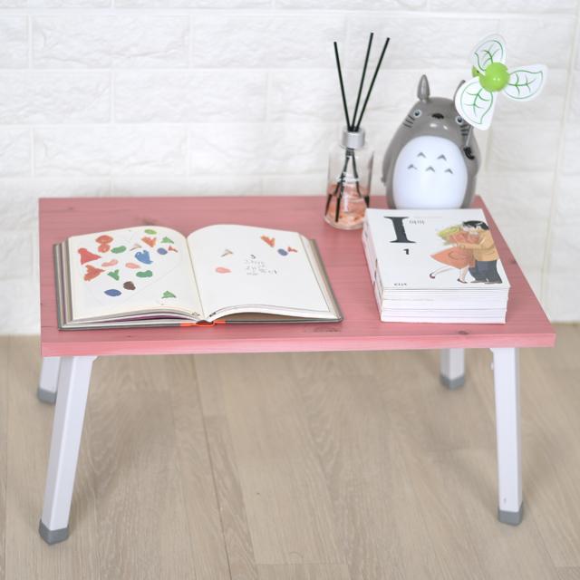 바니가구 미니 좌식책상 테이블, 핑크W