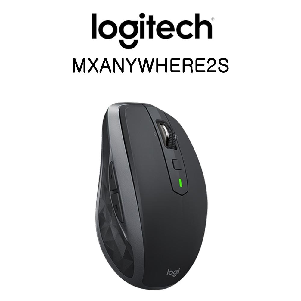 로지텍 MX Anywhere 블루투스 무선 마우스, 1개, 로지텍 MX ANYWHERE 2S