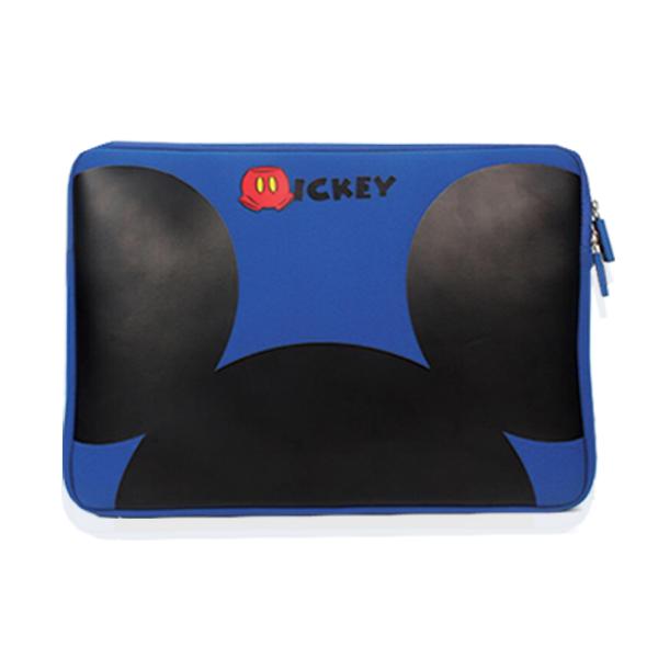 디즈니 맥북 노트북 파우치 11인치 13인치 15인치, 디즈니파우치15인치/블루