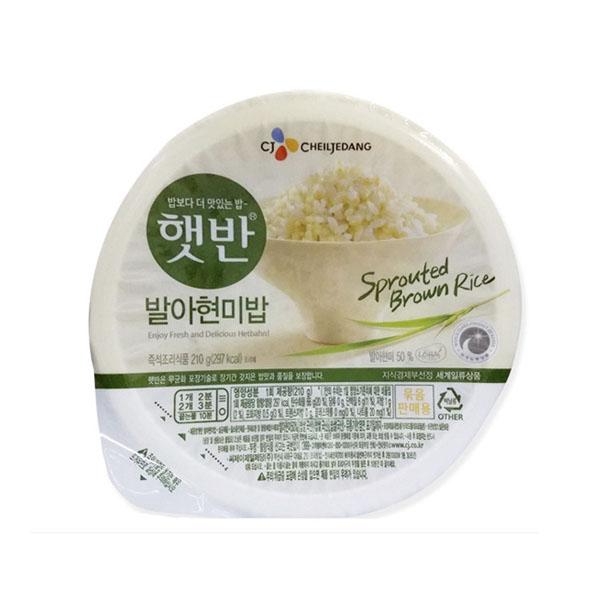 씨제이제일제당주 발아현미밥 210g 24개