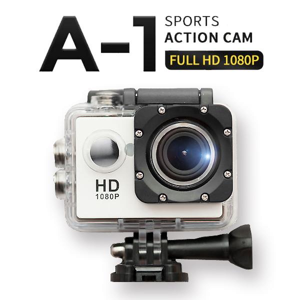 S2J Full HD A-1 스포츠 액션캠, 화이트, A-1 액션캠(본체+기본구성품)