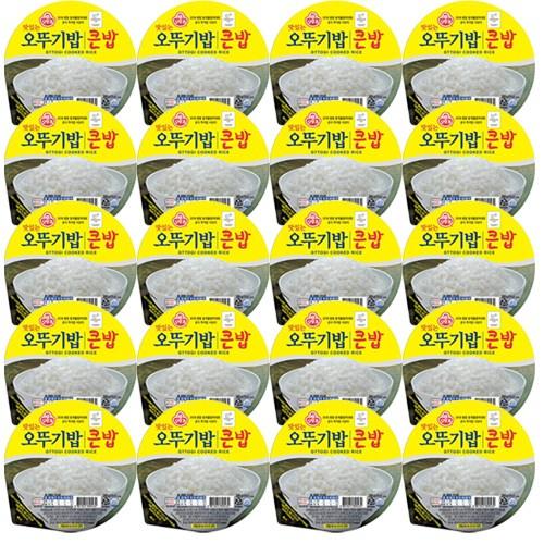 맛있는 오뚜기밥 큰밥, 300g, 20개