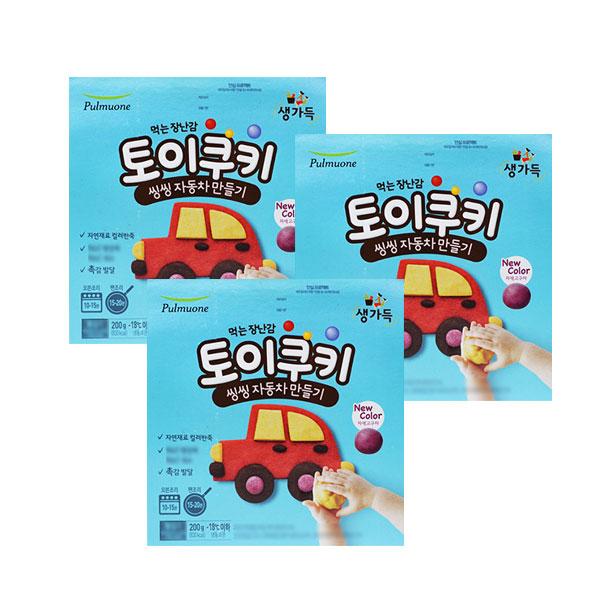 [풀무원]토이쿠키 씽씽자동차 만들기 3박스, 풀무원 토이쿠키 씽씽자동차 만들기 3박스/.