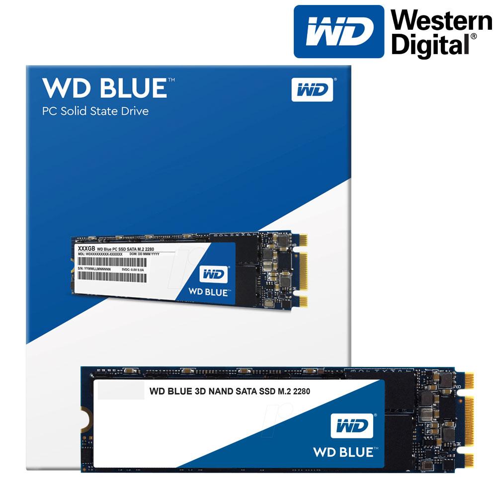 WD Blue M.2 2280 SSD, 500GB