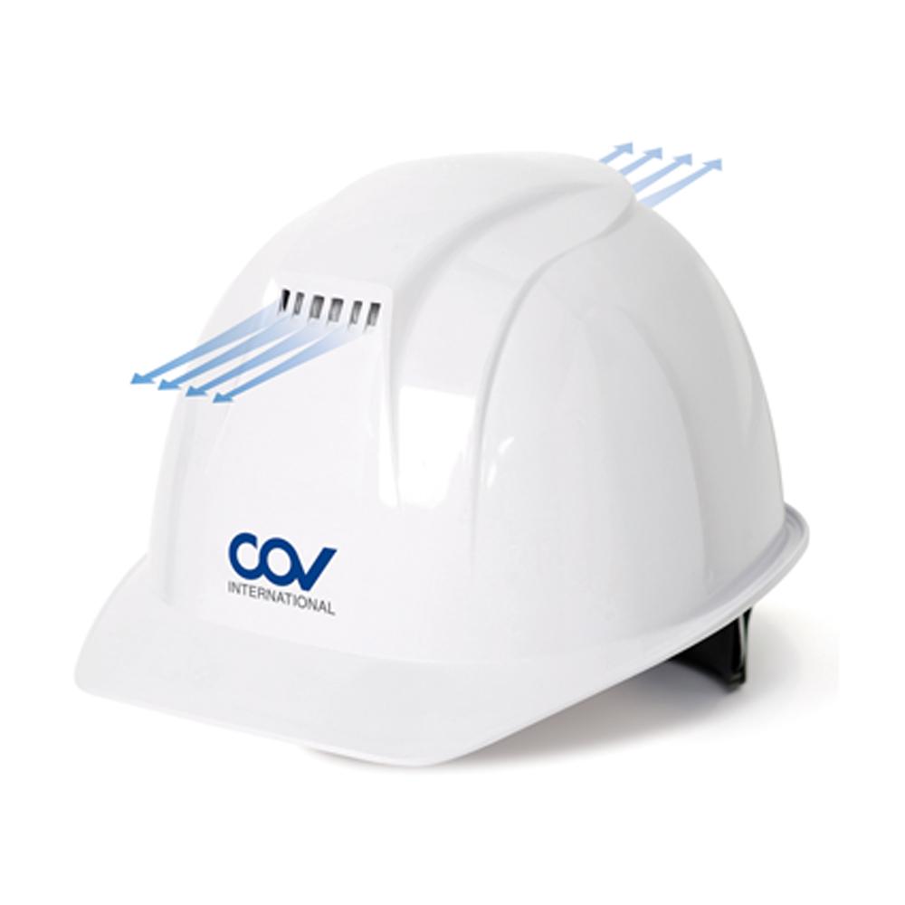 안전모 COVH-A001 통풍모 화이트 코브