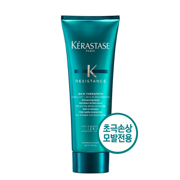 케라스타즈 국내배송 정품 방 테라피스테 250ml 극손상모용 샴푸, 1개
