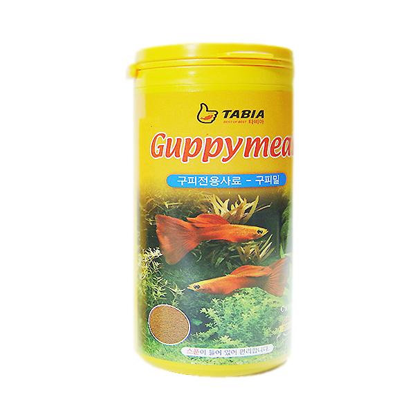 타비아 구피밀 사료, 130g, 1개