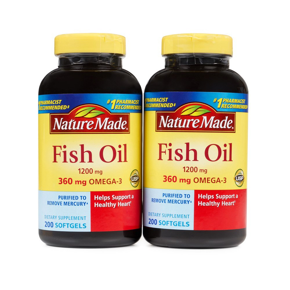 Nature Made 피시오일 Fish Oil 1200 mg 오메가3/6/9, 0.9kg, 400 Softgels