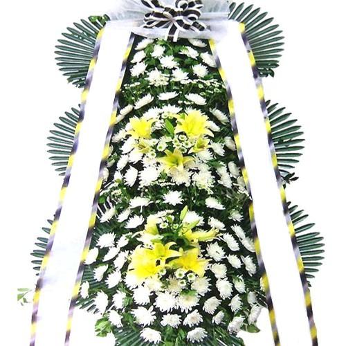 77플라워 근조화환 3단화환 장례식장 조화 상가집꽃 추모 당일 전국꽃배달 화환