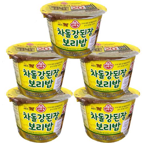 오뚜기 컵밥 차돌강된장 보리밥 280g, 5개