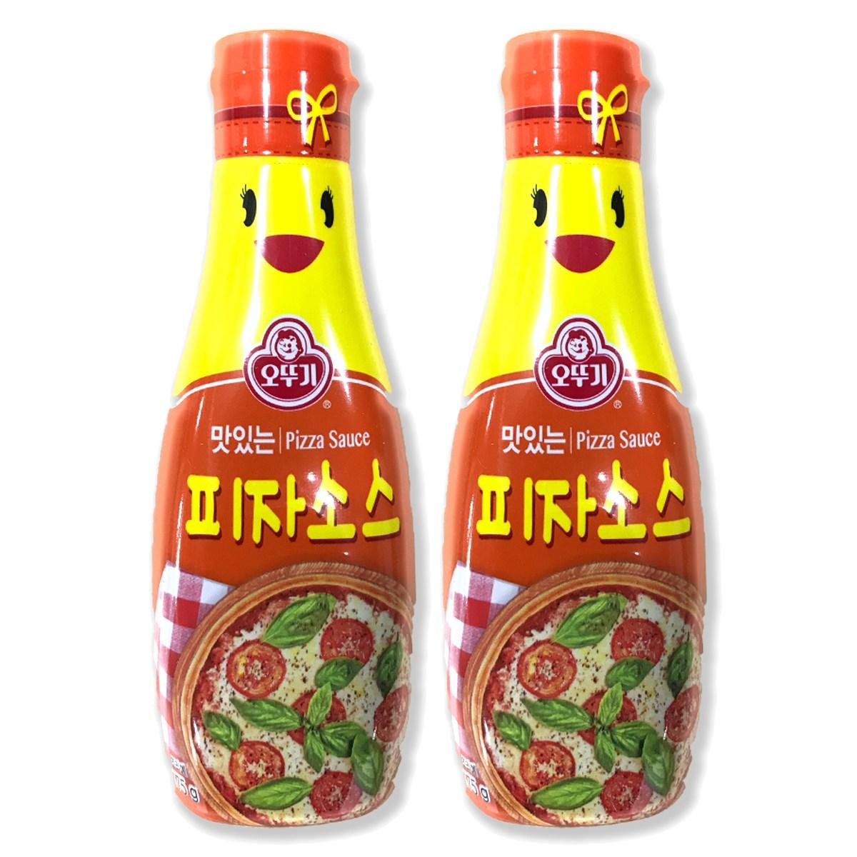 예이니종합물류 오뚜기 피자소스 2개(175g*2개)샐러드드레싱 발사믹연겨자페퍼 요리양념, 175g, 2개