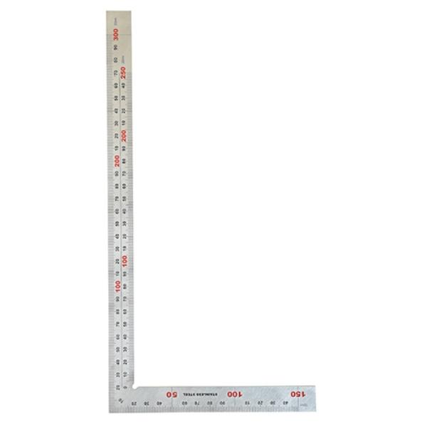 블루텍철직자 직각자(목공용) BD-SQ300W, 단품