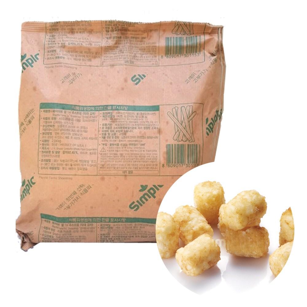 심플로트 테이터잼 맛감자, 2kg, 1봉