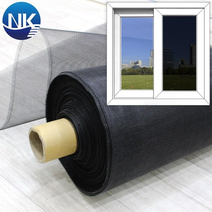 NK롤 창문 방충망 18x16 매쉬 블랙 폭 150cm x 길이 25cm, 1개