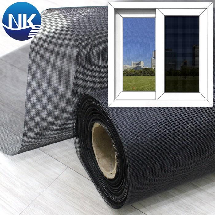 NK롤 창문 방충망 미세 22x22매쉬 블랙 폭 60cm x 길이 40cm, 1개
