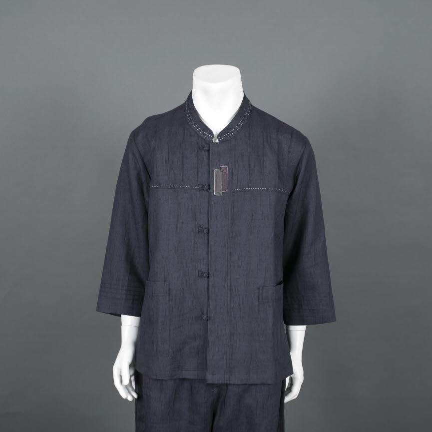 부국사임당 남성 마 차이나 베이직 저고리 바지 생활한복(개량한복)