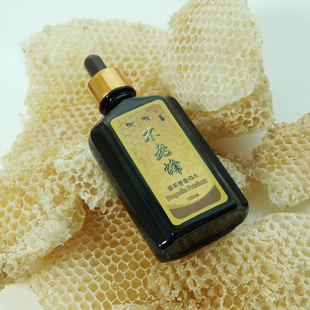 여주꿀벌농원 불로봉폴리스 골드 100ml 프로폴리스 추출물 고함량 액상 원액, 1개
