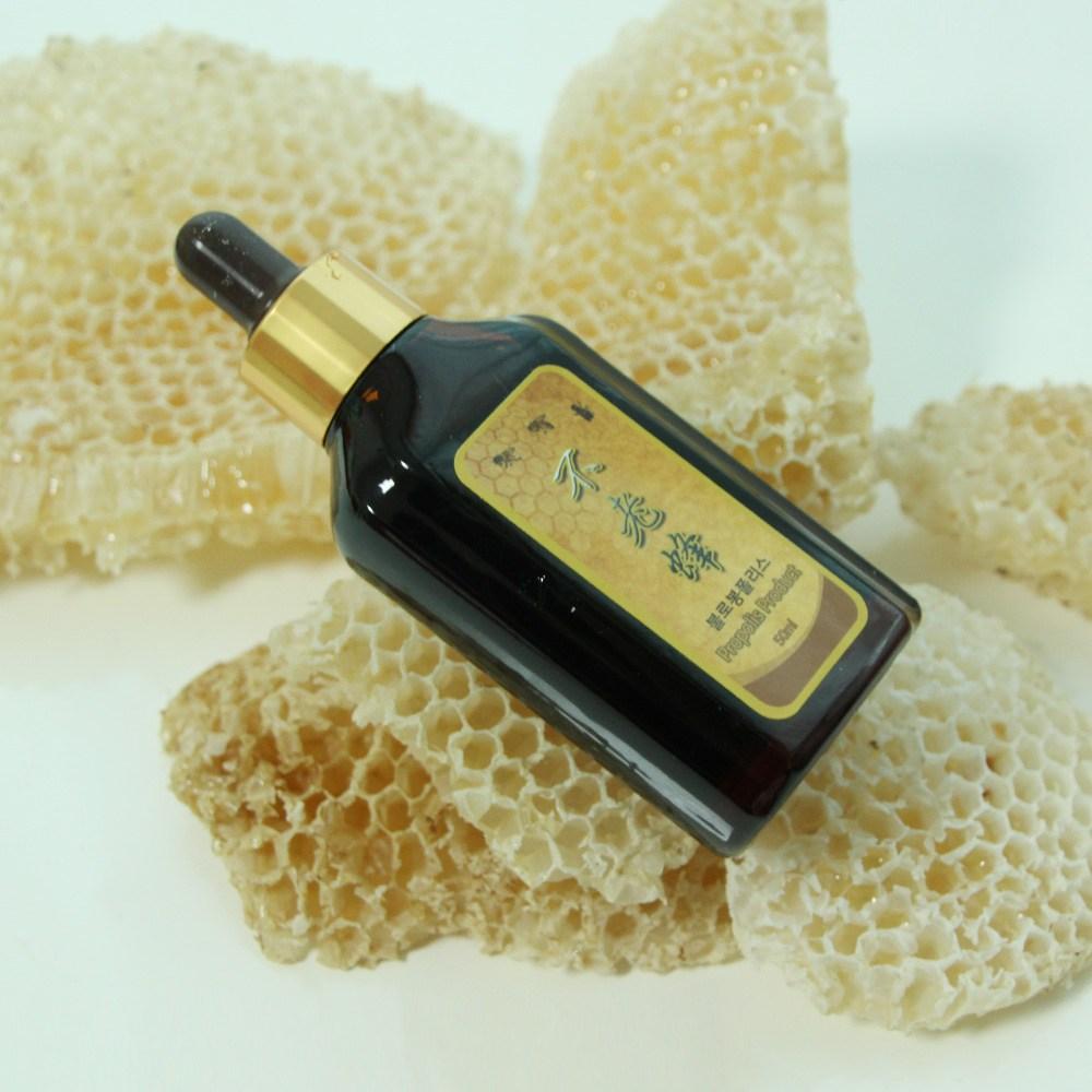 여주꿀벌농원 불로봉폴리스 50ml 프로폴리스 추출물 고함량 액상 원액, 1개