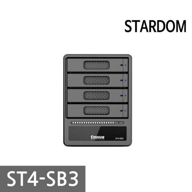 무료 스타덤 SOHOTANK ST4-SB3 DAS 4BAY 스토리지, 본상품선택, 1