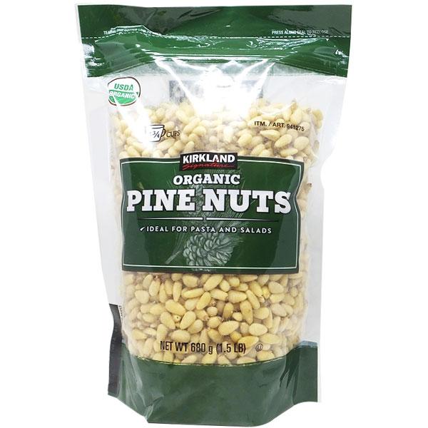 Kirkland Signature Pine Nuts 잣 680, 1팩