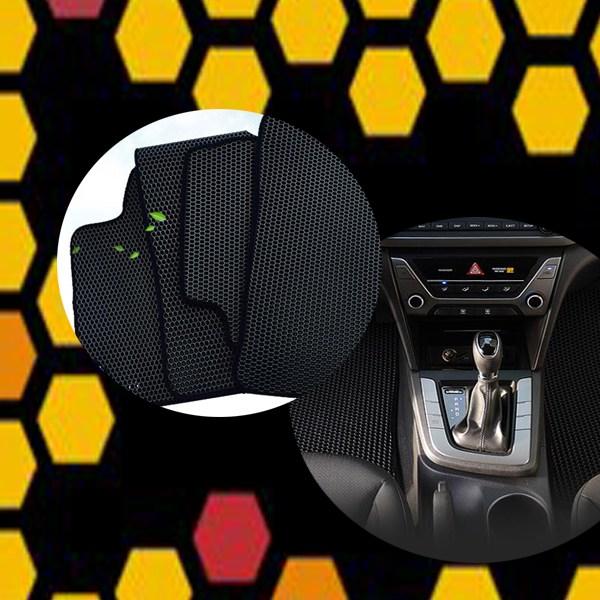벌집매트 카매트 자동차 벌집발판, 신형제네시스 EQ900(2륜)(16년~)(5P)