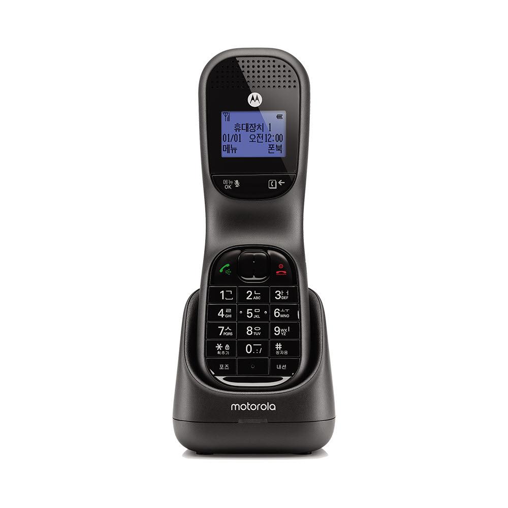 모토로라 한글 무선 전화기 TD1001A, TD1001A 블랙