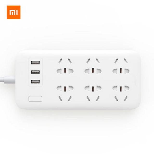 샤오미 콘센트 멀티탭 6구 3구 USB, CO1-WHITE(화이트), J02-STANDARD(일반) + 돼지코어뎁터 (POP 89011942)