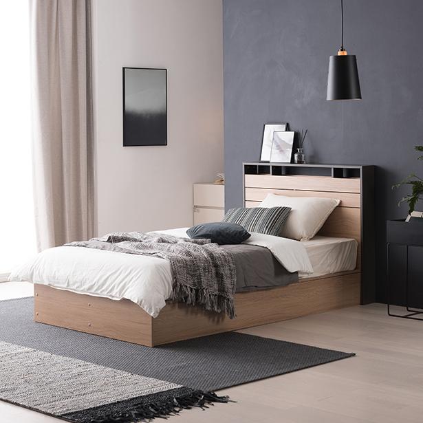리바트온라인 필로시 모던 슈퍼싱글 침대(엔슬립 E1 SS), 단일상품