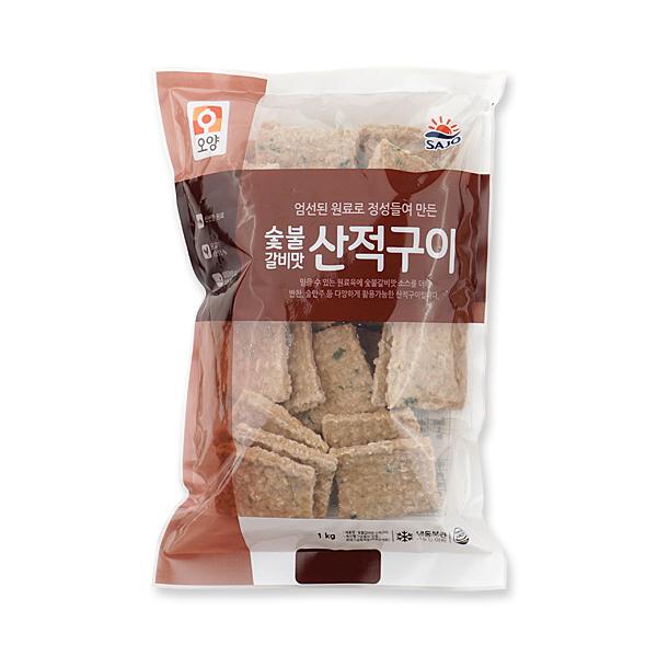 사조오양 숯불갈비맛산적구이-1kg, 1kg, 1봉