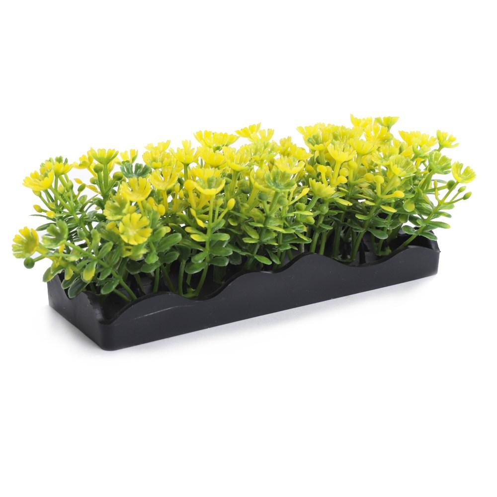 펜플락스 스몰 번치 플랜트 인조수초/인공수초, Yellow, 1개