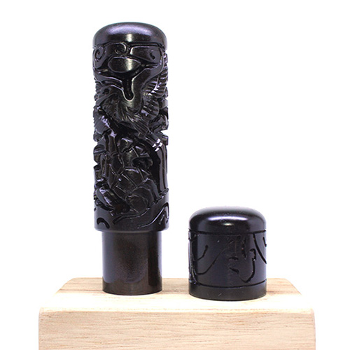 고급 국산벽조목 도장, 5. 십장생
