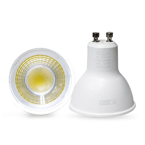 오스람 필립스 LED MR16 5W GU10 전구 할로겐 램프 LED전구 조명 안정기, LED MR 16 5W GU10 YD 주광색(흰빛), 1개