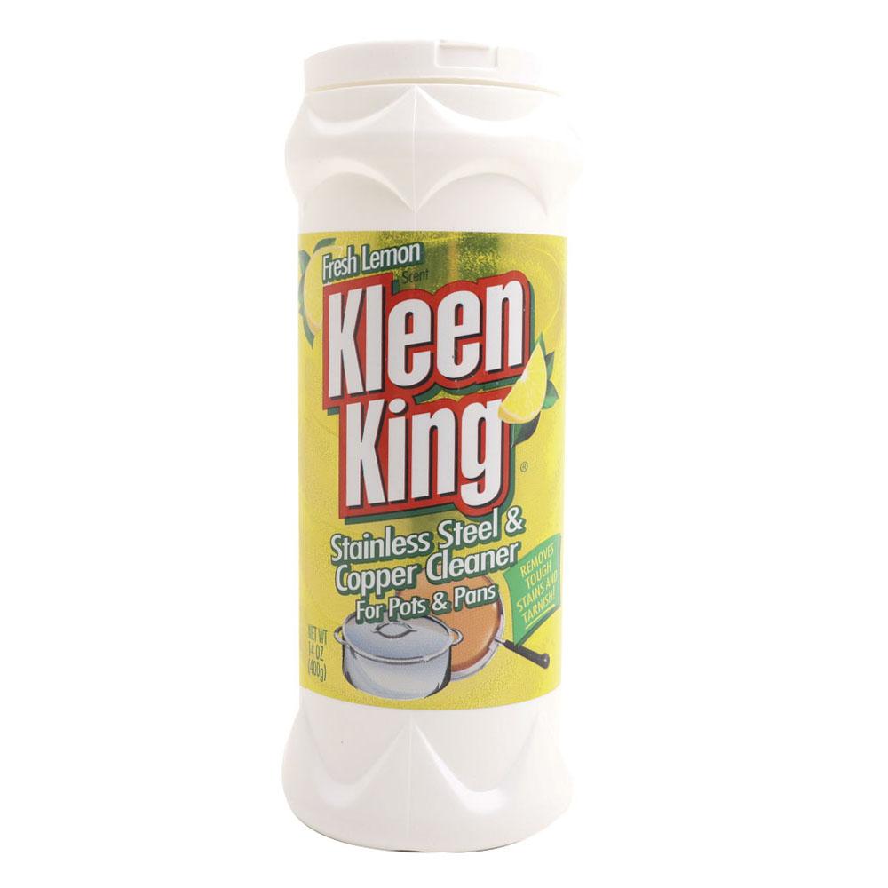 클린킹 스테인리스 스틸 & 코퍼 광택 일반주방세제 프레시 레몬, 400g, 1개