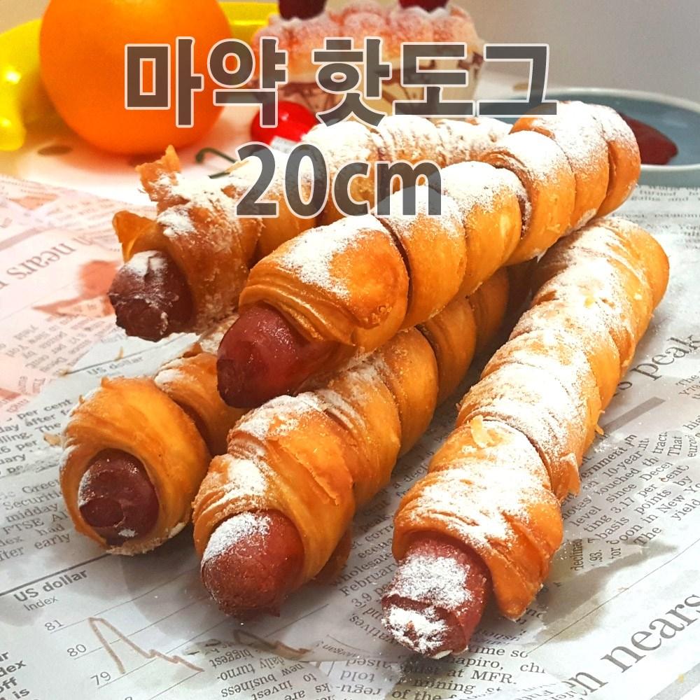 푸드드림 쏘팡 마약핫도그 회오리100gx10개입 1kg, 100g, 10개입