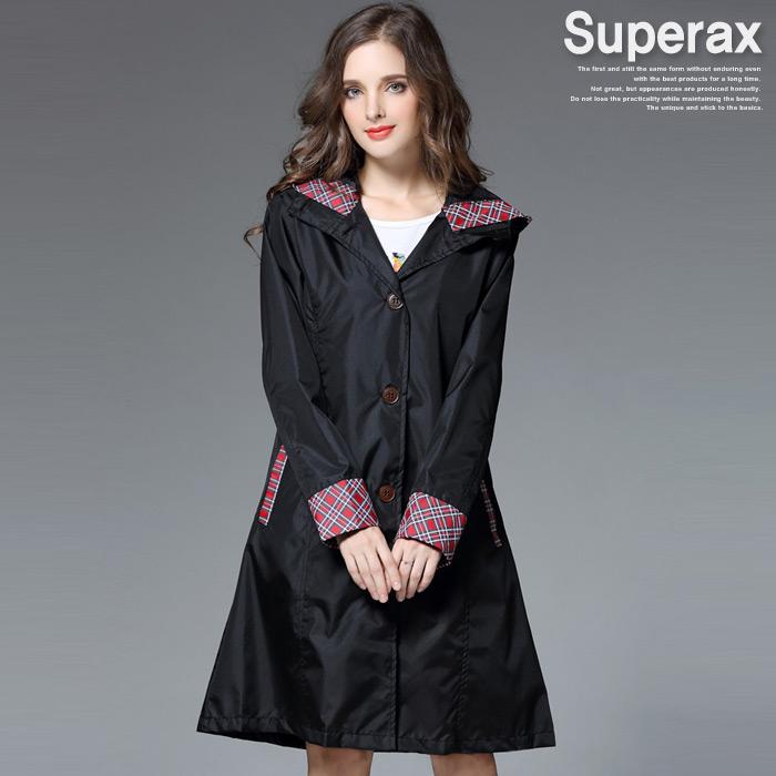 슈퍼렉스 남여공용 우비 레인코트 비옷 판초우의 고급우비 RAIN27-CH