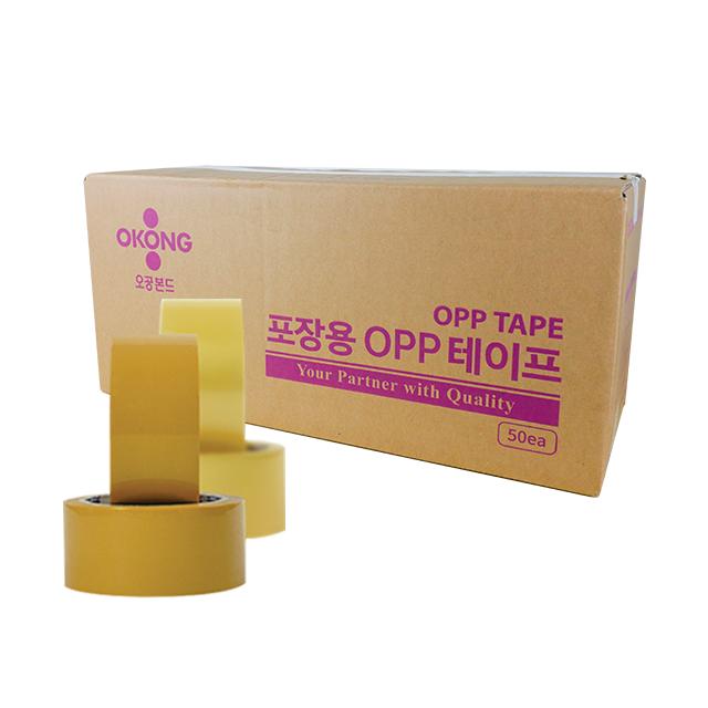 [오공본드] 투명 OPP박스테이프 100m 1Box(30개)