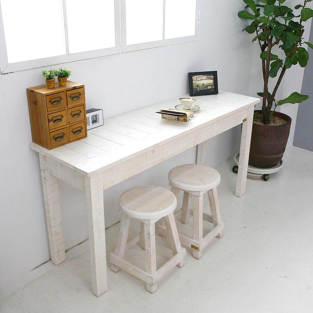원목 사이드테이블(White), 단품
