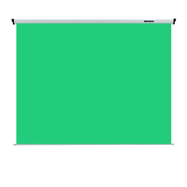 YUNCINE 반자동 크로마키 배경시스템 배경지 블루스크린 그린스크린, 01) 80인치(1800x1800) 그린스크린