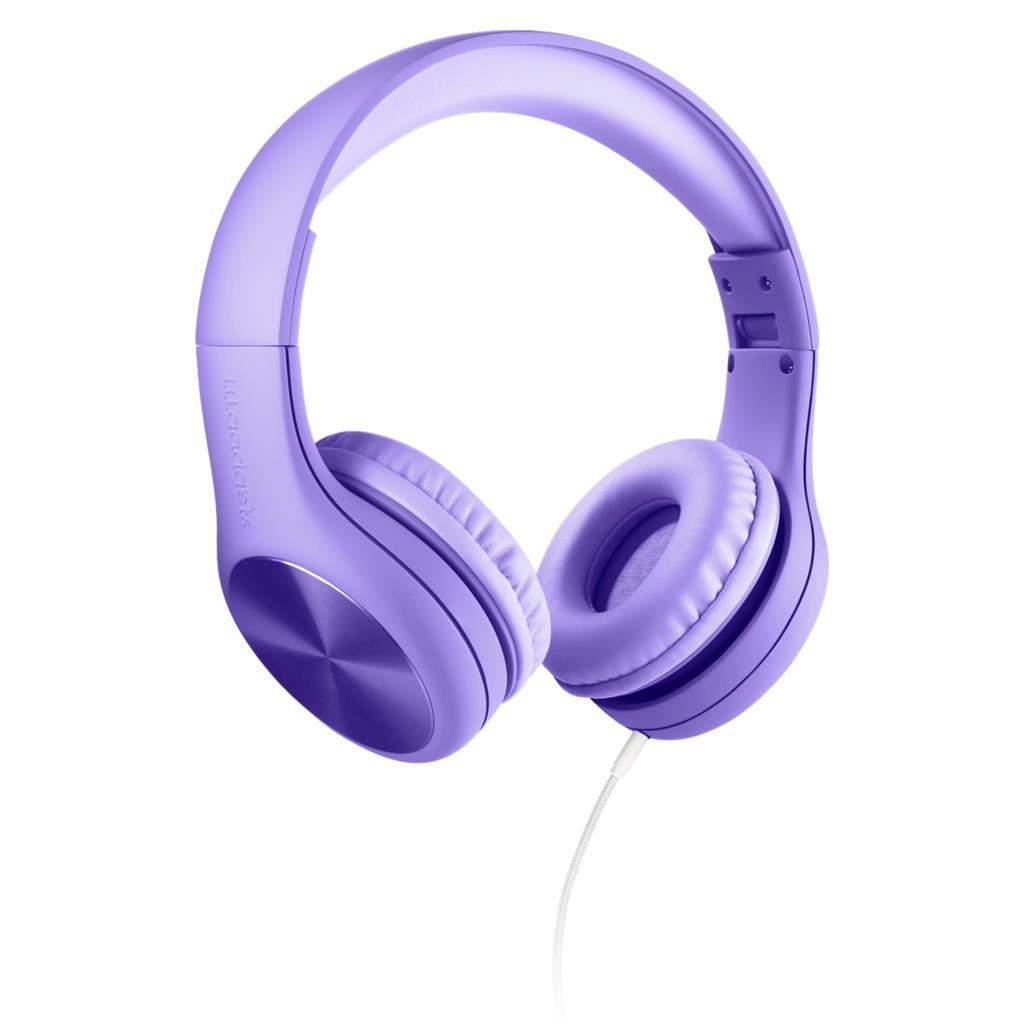 릴가젯 Pro 어린이 청력보호 유선 헤드셋, 퍼플, Pro(5-11세)