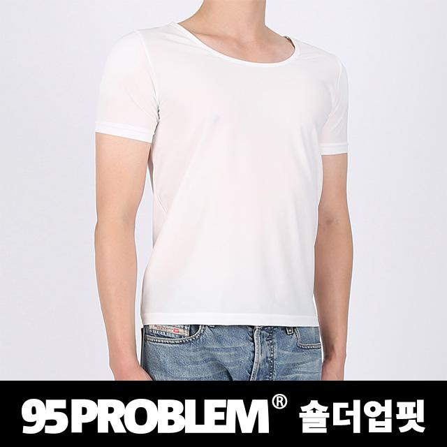 95PROBLEM 남자어깨보정속옷 숄더업핏 반팔