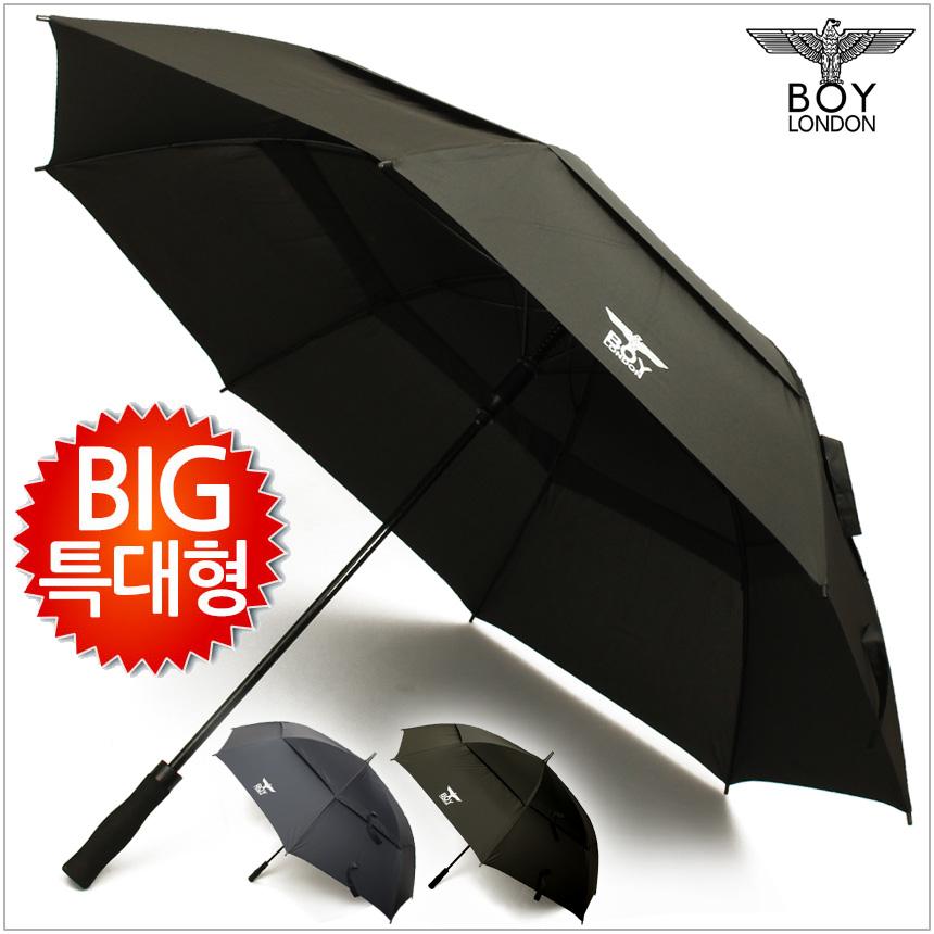보이런던 초대형 빅사이즈 방풍 골프 의전용 장우산 [방풍멜빵] (80x8K)