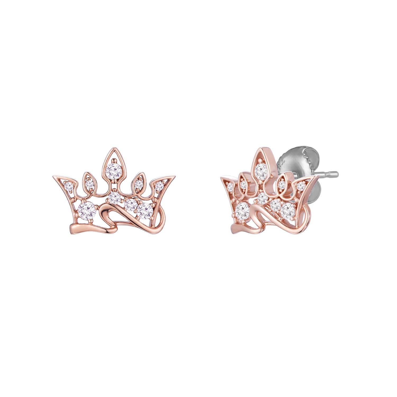 제이에스티나 여성용 Bellissima Tiara 귀걸이 JJT1EQ8AS052SR000
