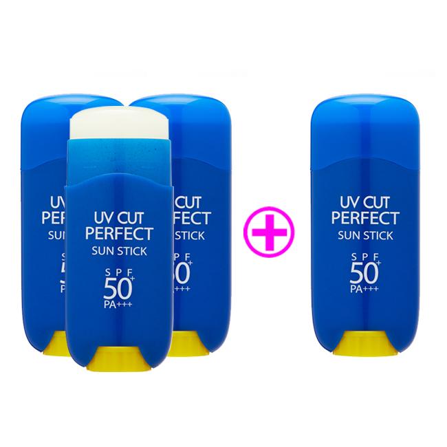 에네스티 UV컷퍼펙트 선스틱 썬스틱 순한선스틱 스틱선크림 자외선차단제 23g 3+1, 3개